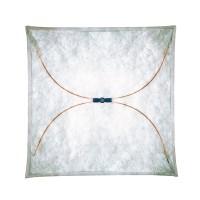 Ariette Wand- / Deckenleuchte, 100 x 100 cm, Stoff