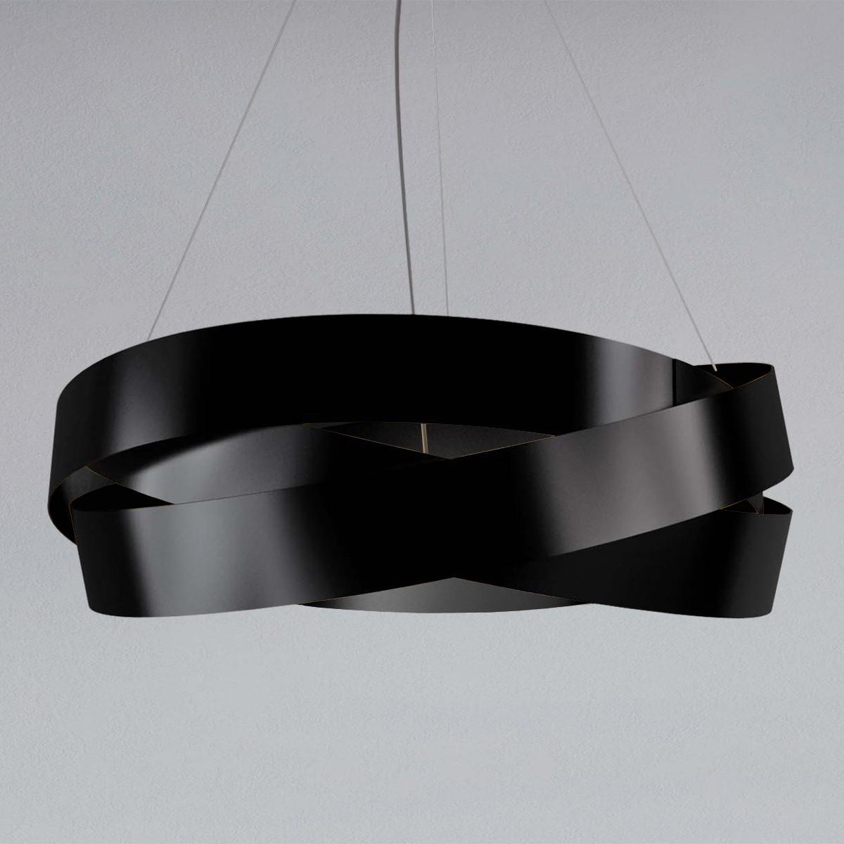MARCHETTI Pura S100 LED Pendelleuchte, schwarz