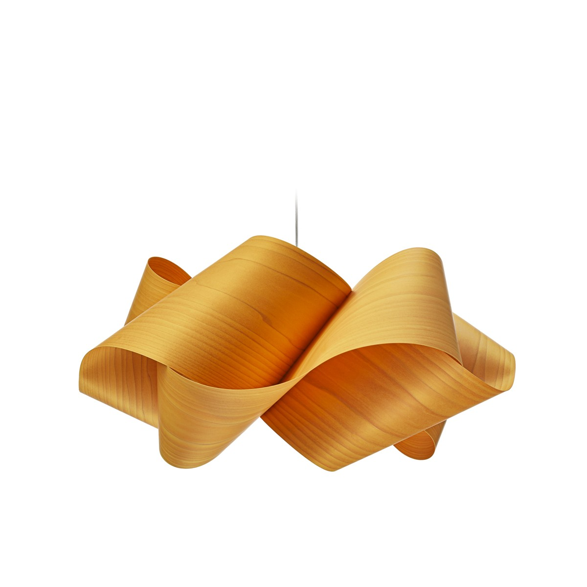 LZF Lamps Swirl Small Pendelleuchte, gelb