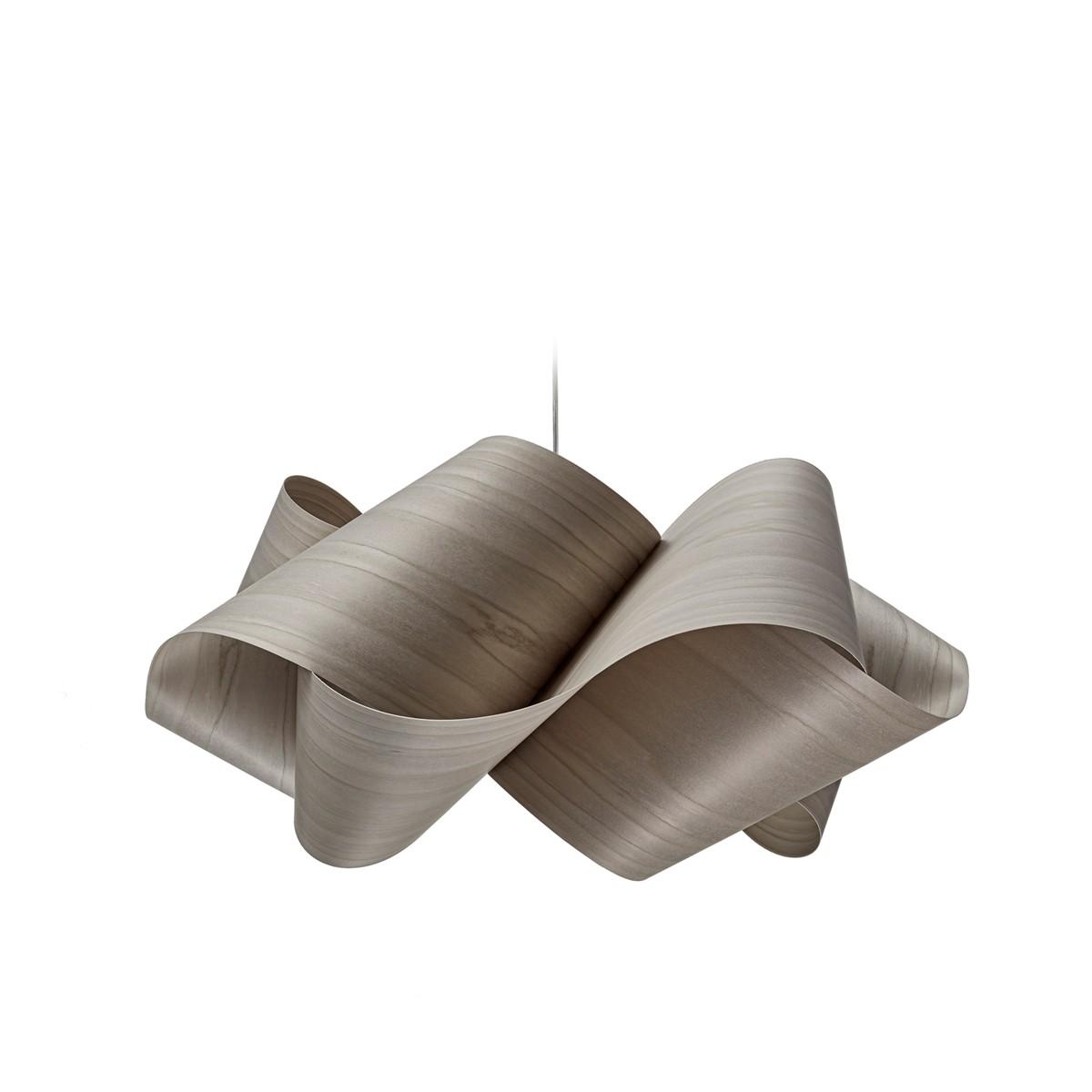 LZF Lamps Swirl Small Pendelleuchte, grau