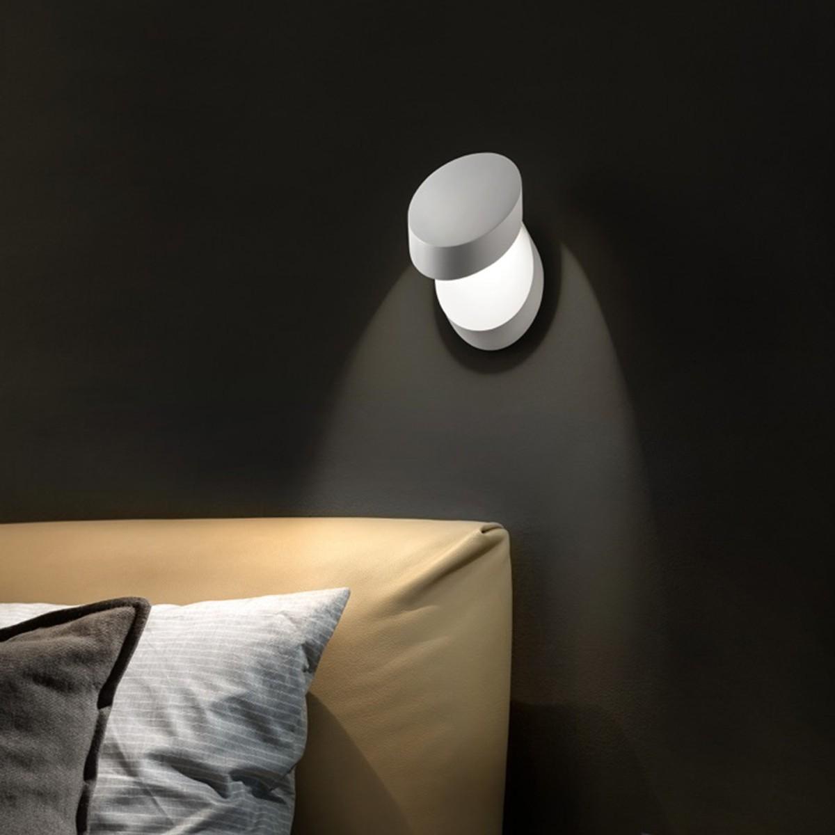 Studio Italia Design Pin-Up Wand- / Deckenleuchte, 2700 K, weiß matt