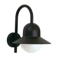 Albert Leuchten 0662 Außenwandleuchte, schwarz