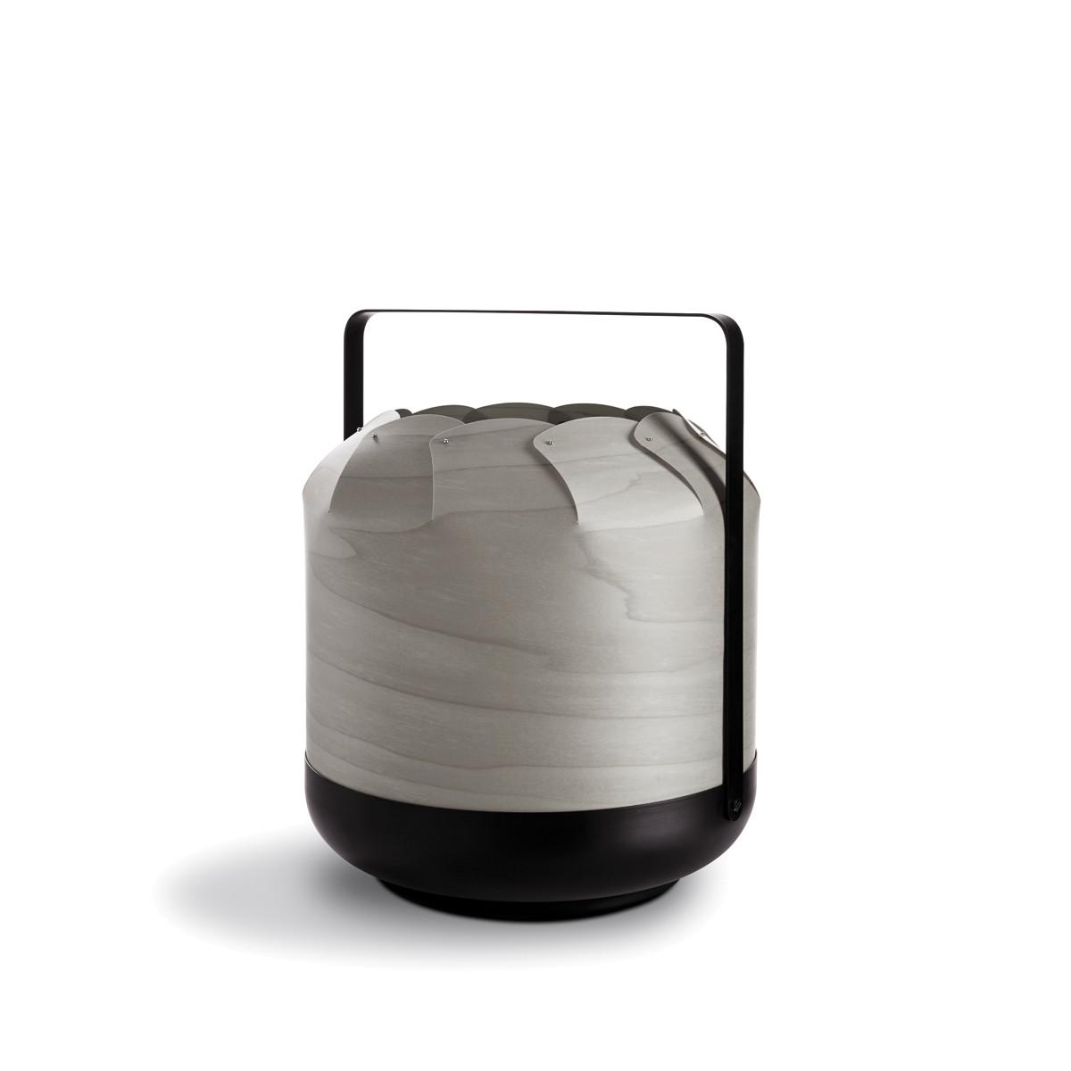 LZF Lamps Chou Short Tischleuchte, grau