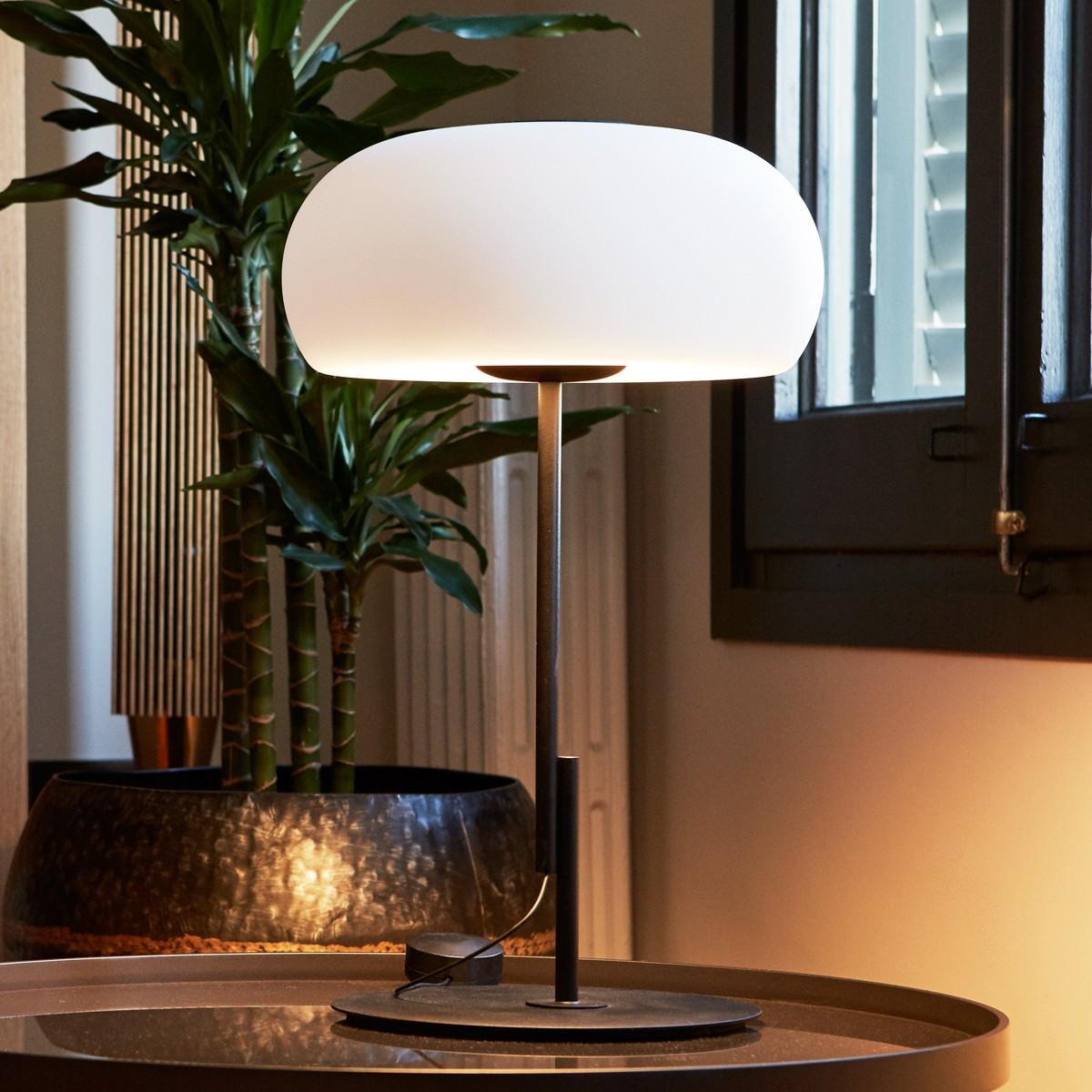 Marset Vetra S LED Tischleuchte, schwarz