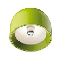 Flos Wan C Deckenleuchte, grün, grüner Ring