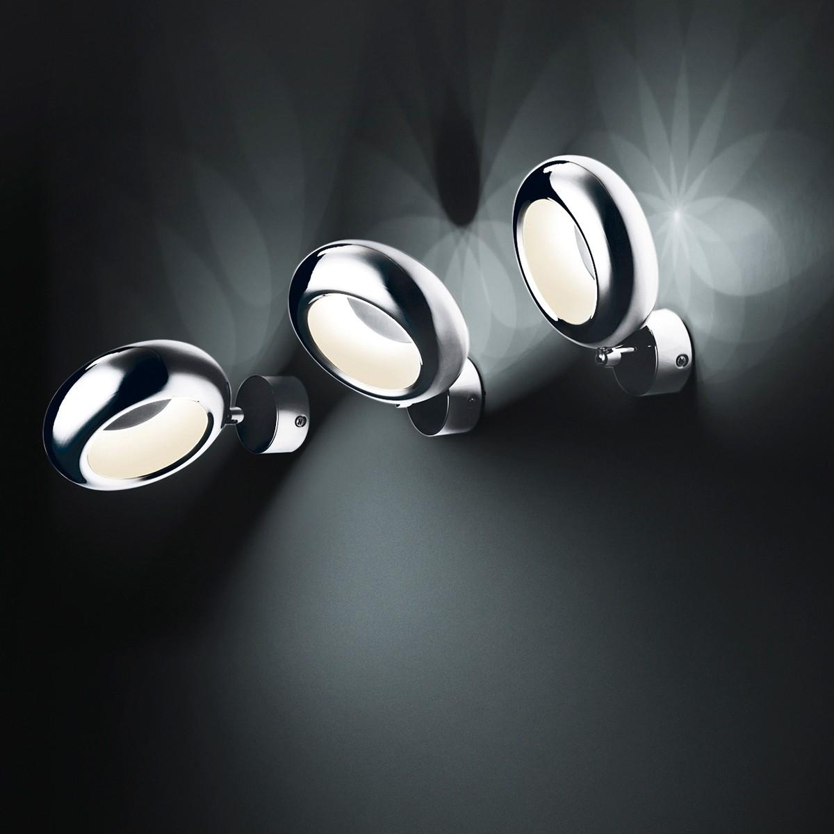 Sompex Aura LED Wandleuchte, Chrom
