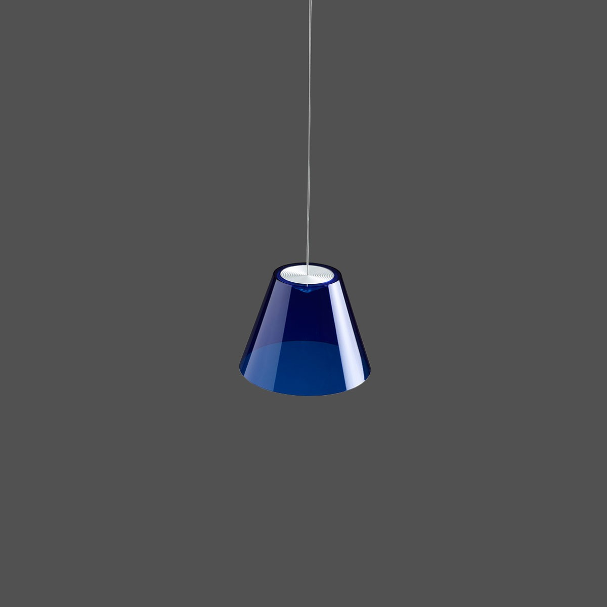 Rotaliana Dina H1 Pendelleuchte, blau