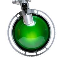 Berenice Tavolo Piccola, Gestell: Aluminium, Reflektor: grün