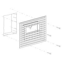 Einbauset Unterputz / Mauerwerk für Mike India 50 Accent Long, mit Raum für Konverter