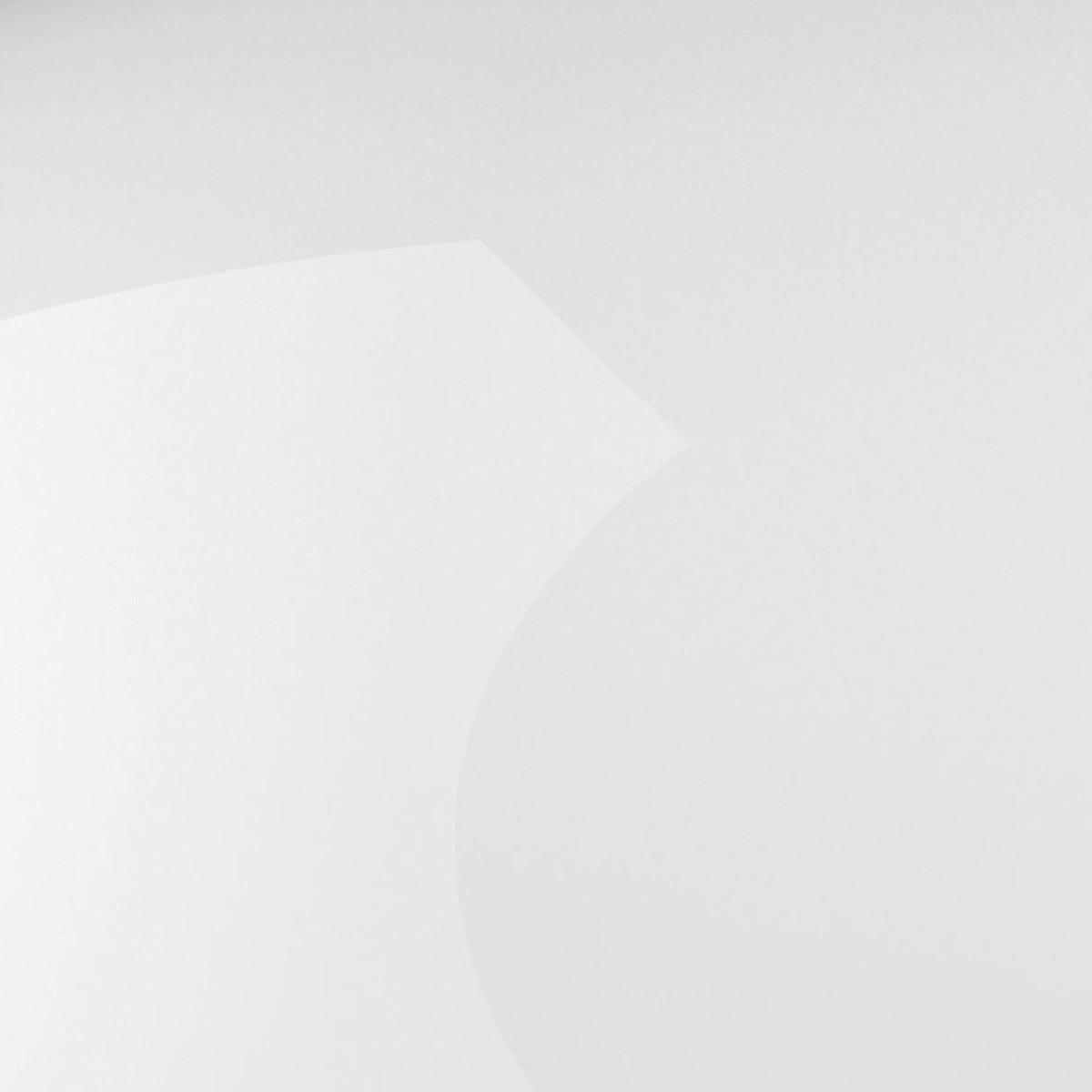 Fontana Arte Pangen Deckenleuchte, weiß glänzend