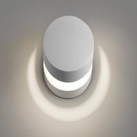 Lodes Pin-Up LED Wand- / Deckenleuchte, weiß matt