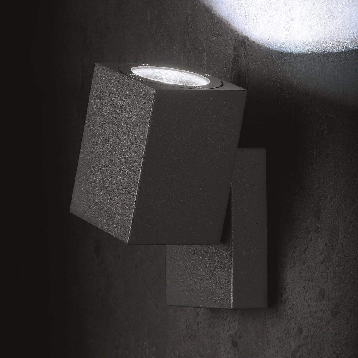 Lupia Licht Movimento Wandstrahler, anthrazit