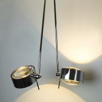 Top Light Puk Maxx Ceiling Sister Single LED, 80 cm, Chrom, Linse klar / Linse klar