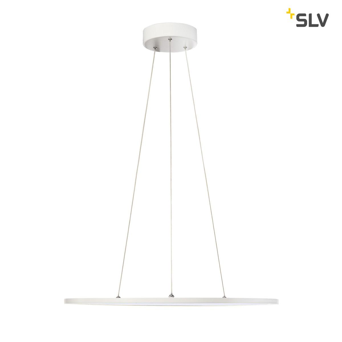 SLV LED Panel Pendelleuchte, 4000°K, weiß