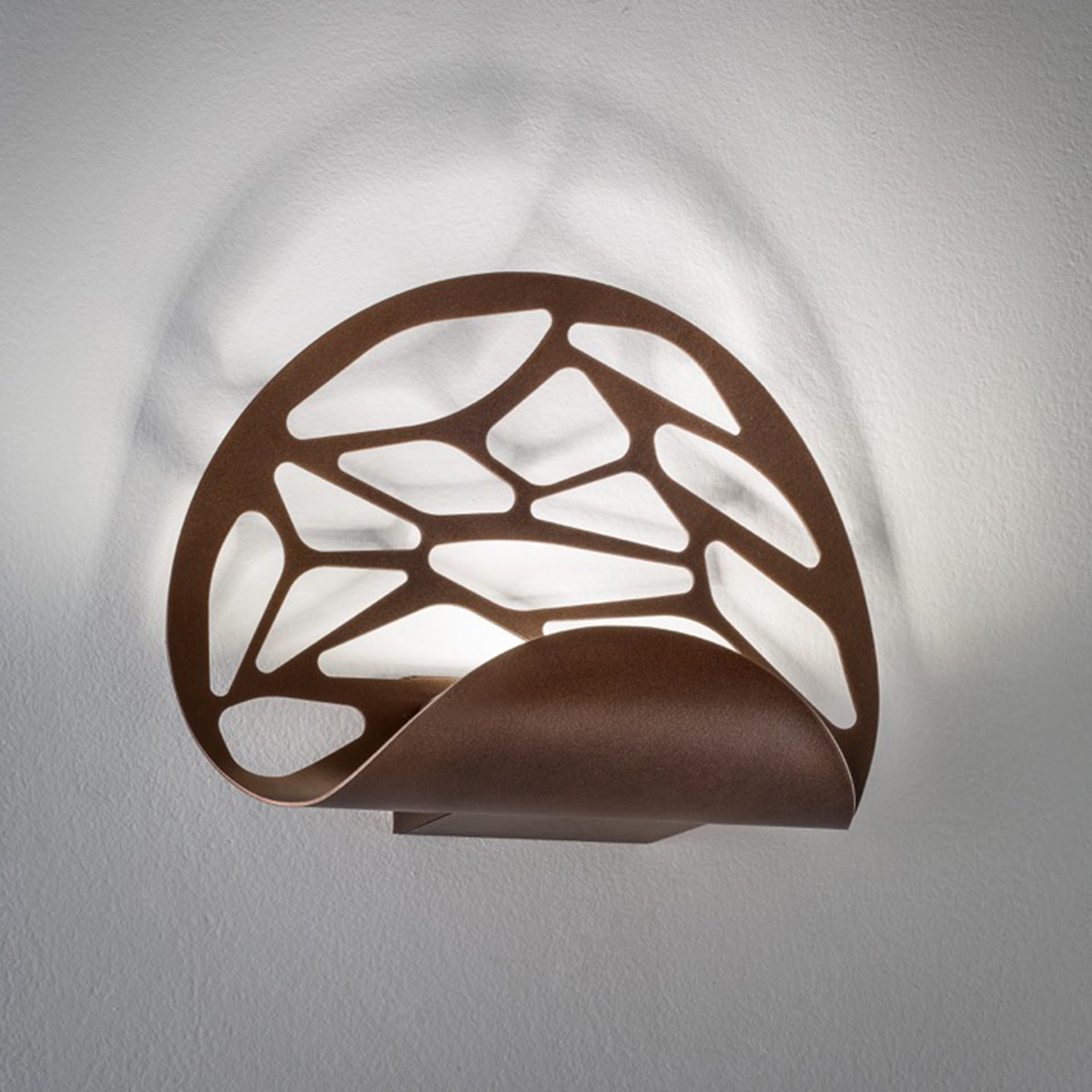 Studio Italia Design Kelly Wandleuchte, Bronze