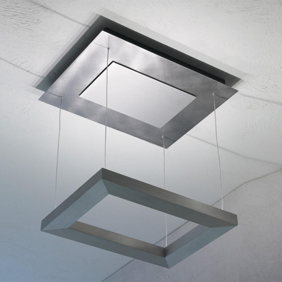 Escale Della Luna LED Deckenleuchte, Aluminium eloxiert
