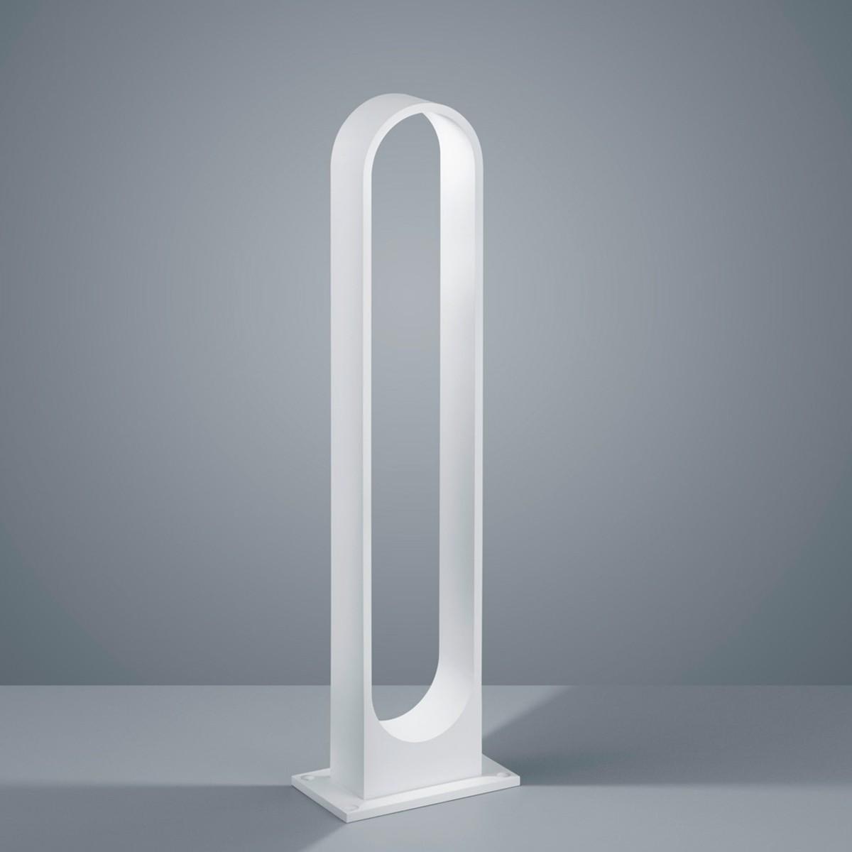 Helestra Dry LED Pollerleuchte, weiß matt