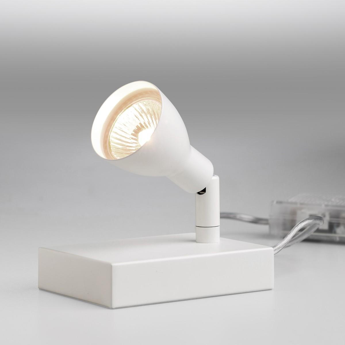 Lupia Licht Fari Tischleuchte, weiß