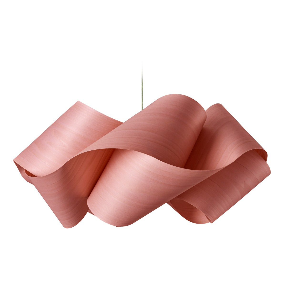 LZF Lamps Swirl Large Pendelleuchte, pink