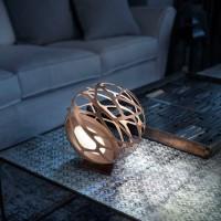 Studio Italia Design Kelly Mini Sphere Tischleuchte, Bronze