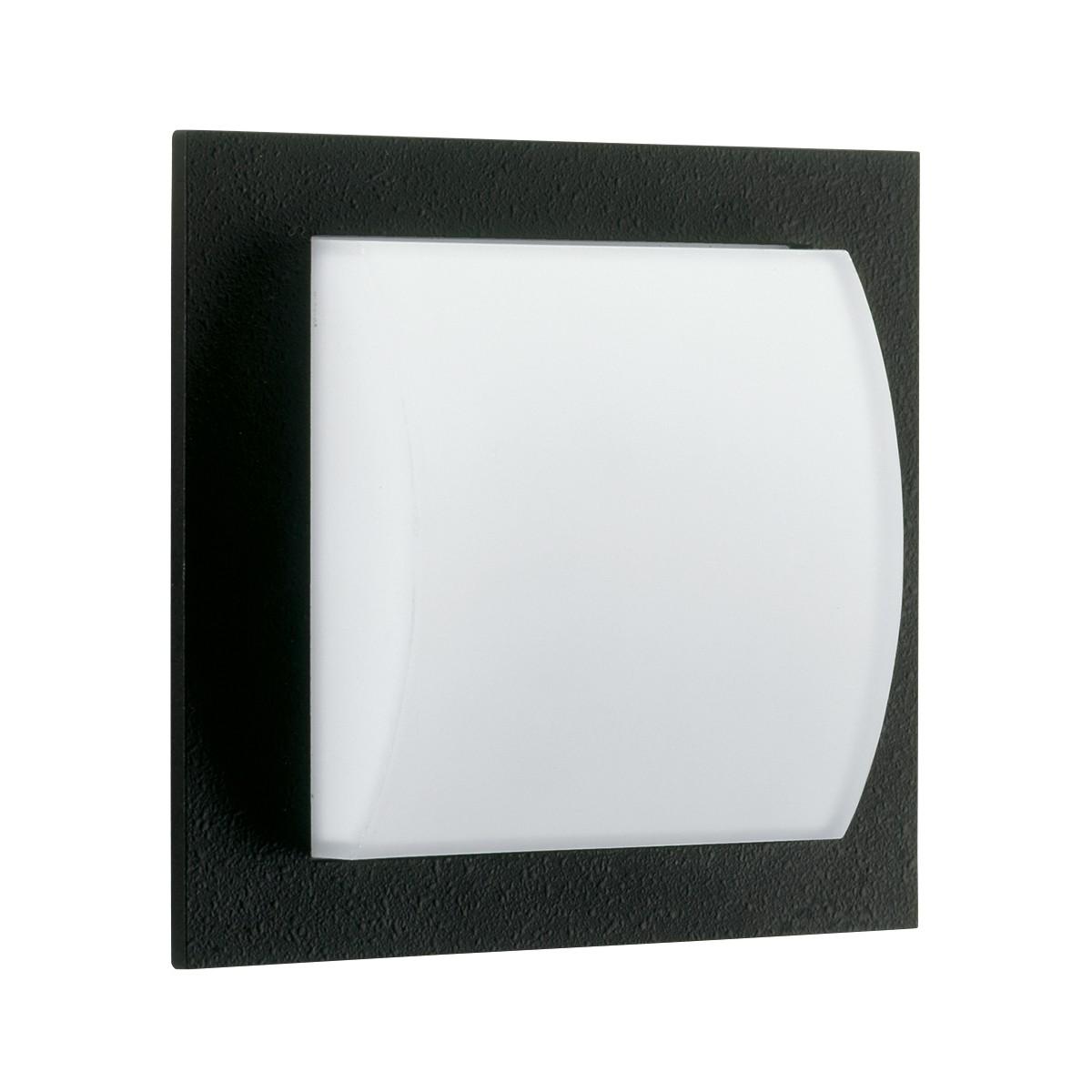 Albert 6209 Wand- / Deckenleuchte, schwarz