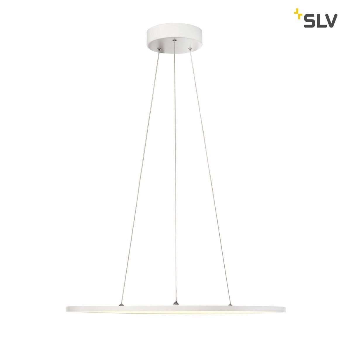 SLV LED Panel Pendelleuchte, 3000°K, weiß