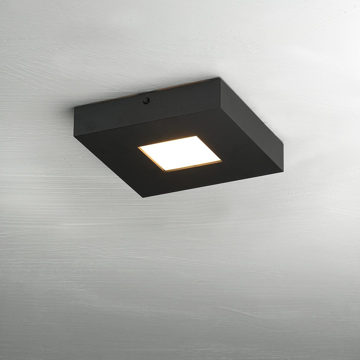 Bopp Cubus Deckenleuchte, 1-flg., schwarz
