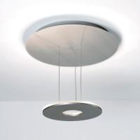 Saturn Deckenleuchte, Aluminium matt, extern dimmbar