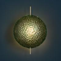 Catellani & Smith Medousê W LED Wandleuchte, Glas grün