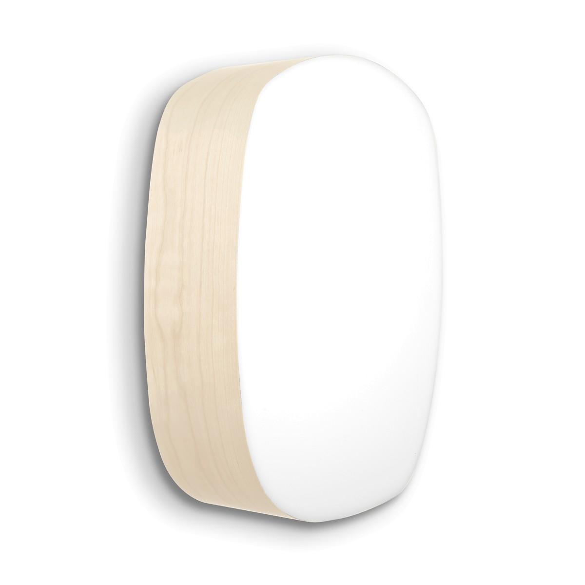 LZF Lamps Guijarro Medium LED Wand- / Deckenleuchte, elfenbeinweiß