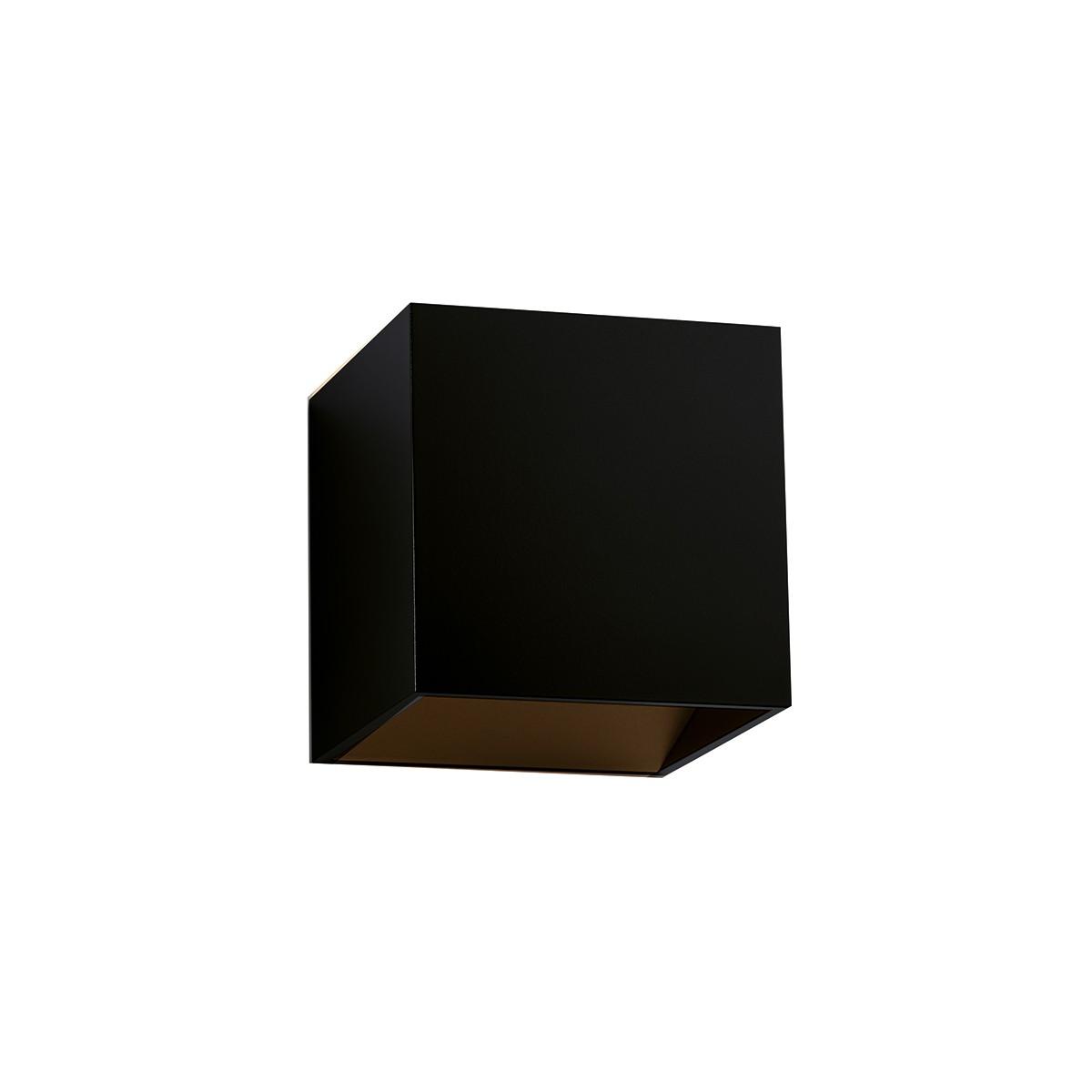 Bruck Cranny LED W Wandleuchte, schwarz