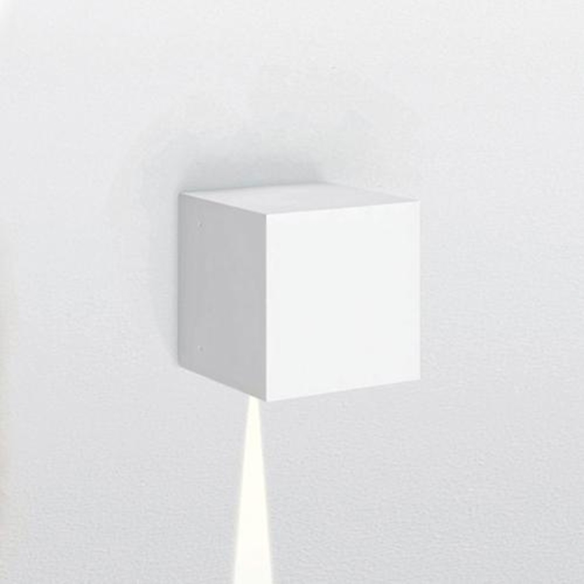 Artemide Outdoor Effetto 14S LED 1N Wandleuchte, 1 x 5°, 3000 K, hellgrau