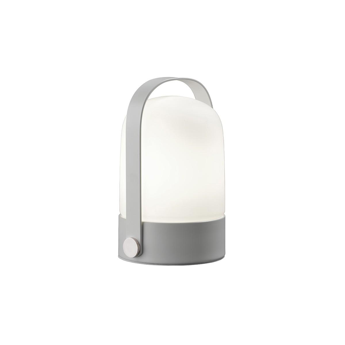 Sompex Soft Tischleuchte, weiß - Glas: weiß