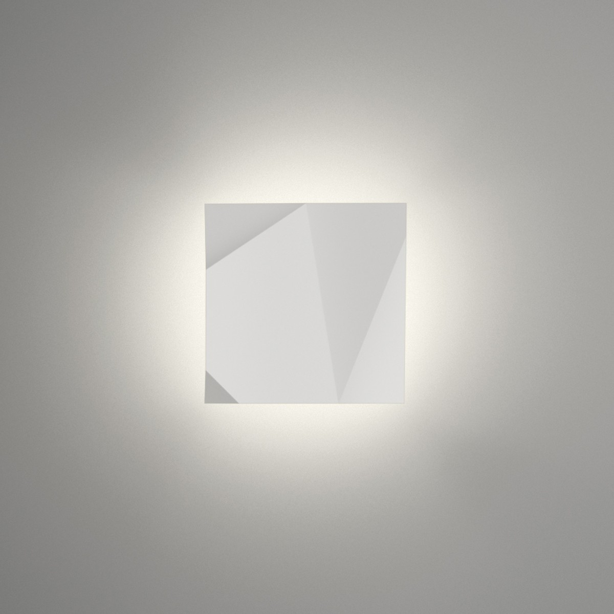 Vibia Origami 4501 Wandleuchte, weiß matt