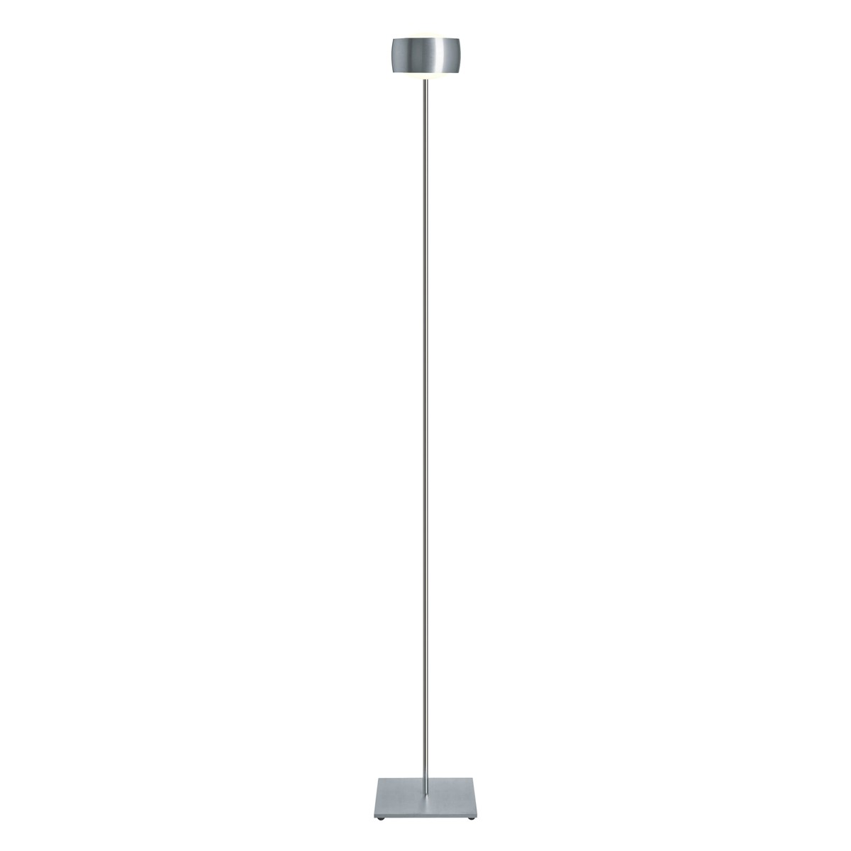 Oligo Grace LED Stehleuchte, Aluminium gebürstet
