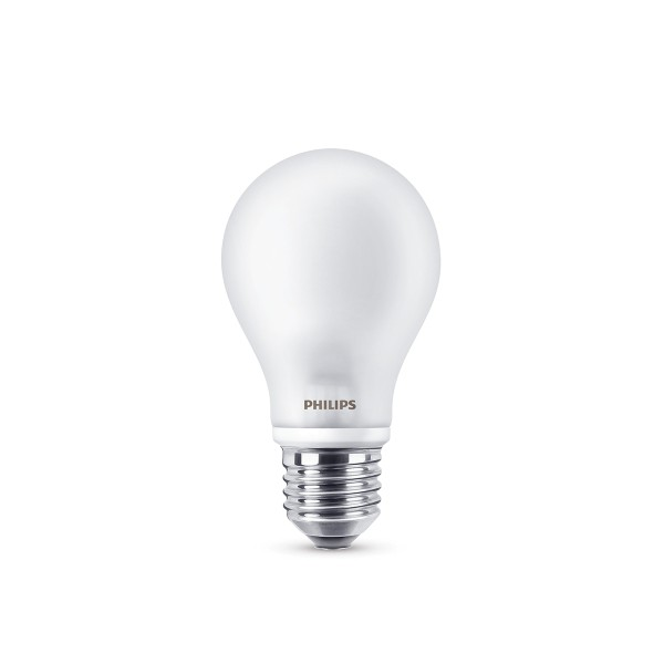 Philips LED Classic Lampe E27 4,5 W, warmweiß, matt
