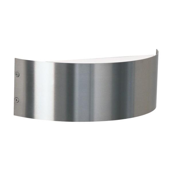 Albert Leuchten 69614 Außenwandleuchte, Breite: 29,5 cm, Edelstahl