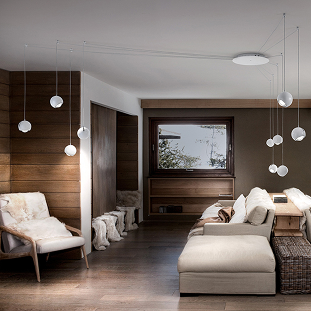 studio italia design spider pendelleuchte 10 flg. Black Bedroom Furniture Sets. Home Design Ideas
