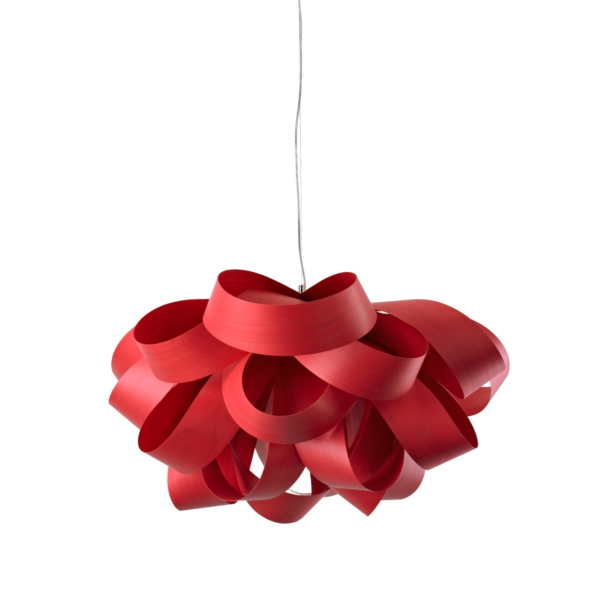 LZF Lamps Agatha Small Pendelleuchte, rot