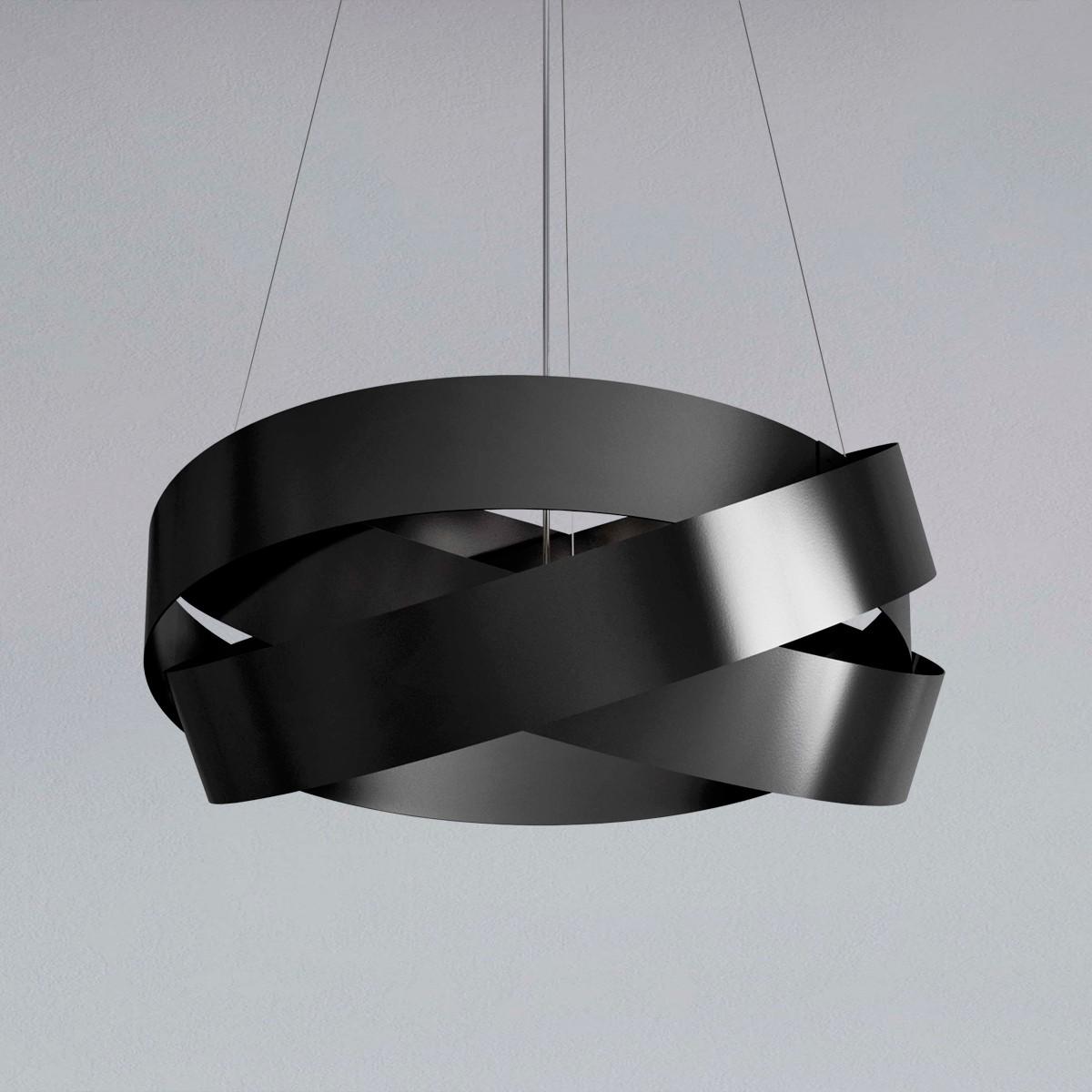 MARCHETTI Pura S60 LED Pendelleuchte, schwarz