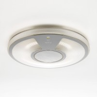 Lightdisc Parete / Soffitto 40, Diffusor: transparent, Gehäuse: transparent