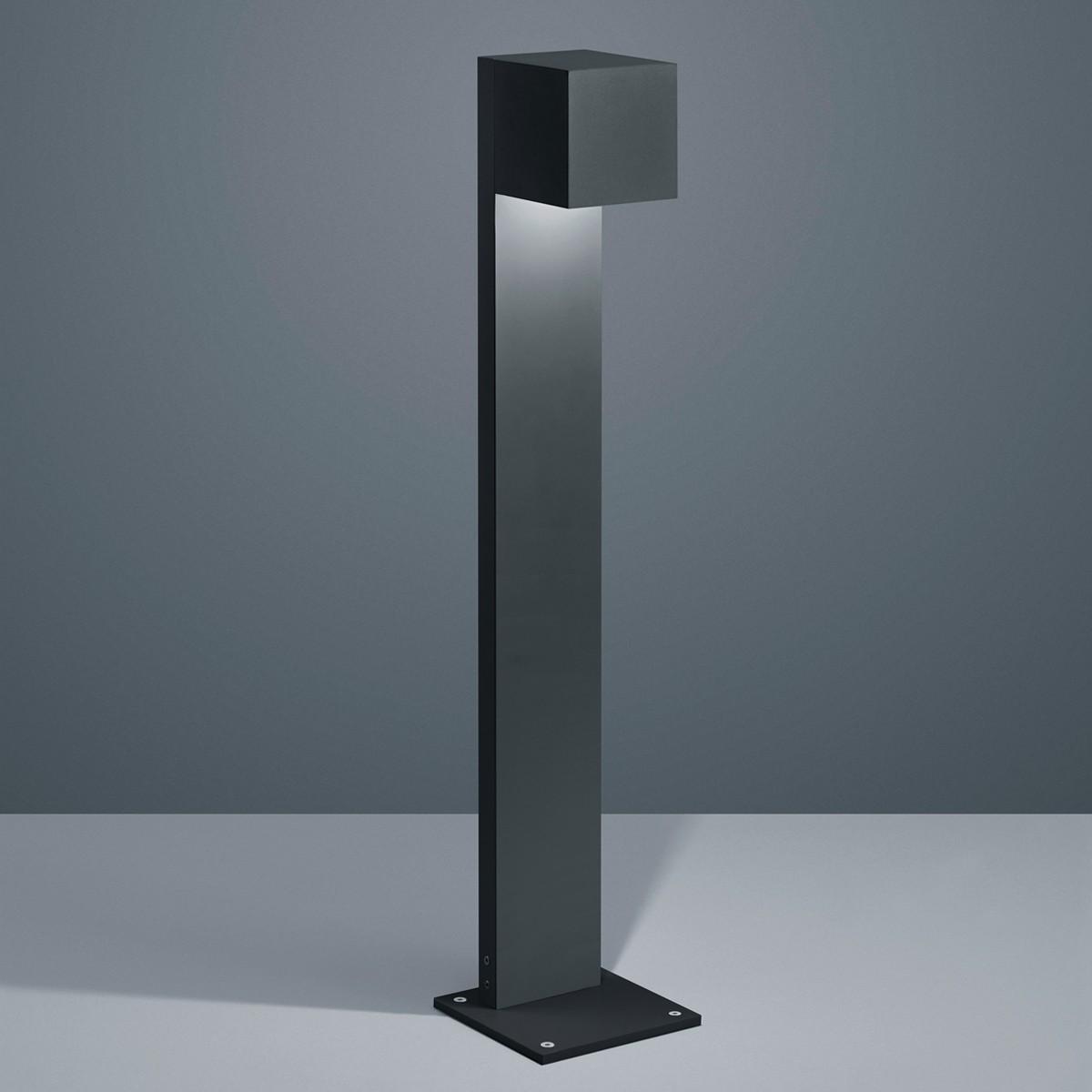 Helestra Siri 44 LED Pollerleuchte, schwarz matt
