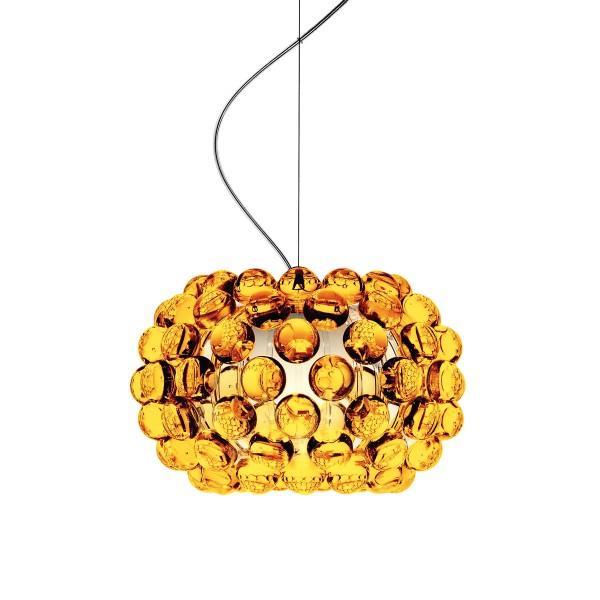 Foscarini Caboche Piccola Sospensione, Pendellänge: 180 cm, giallo oro (goldgelb)