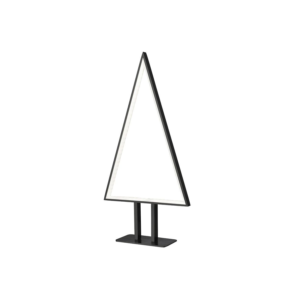 Sompex Pine LED Tischleuchte, Höhe: 50 cm, schwarz
