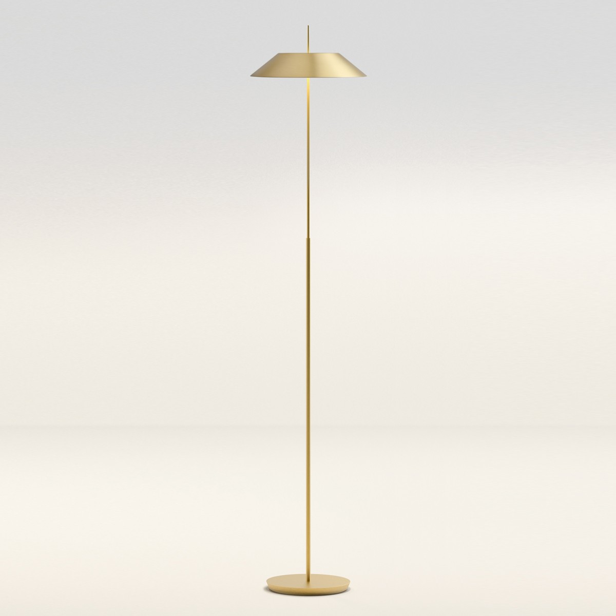 Vibia Mayfair 5515 Stehleuchte, Gold satiniert matt