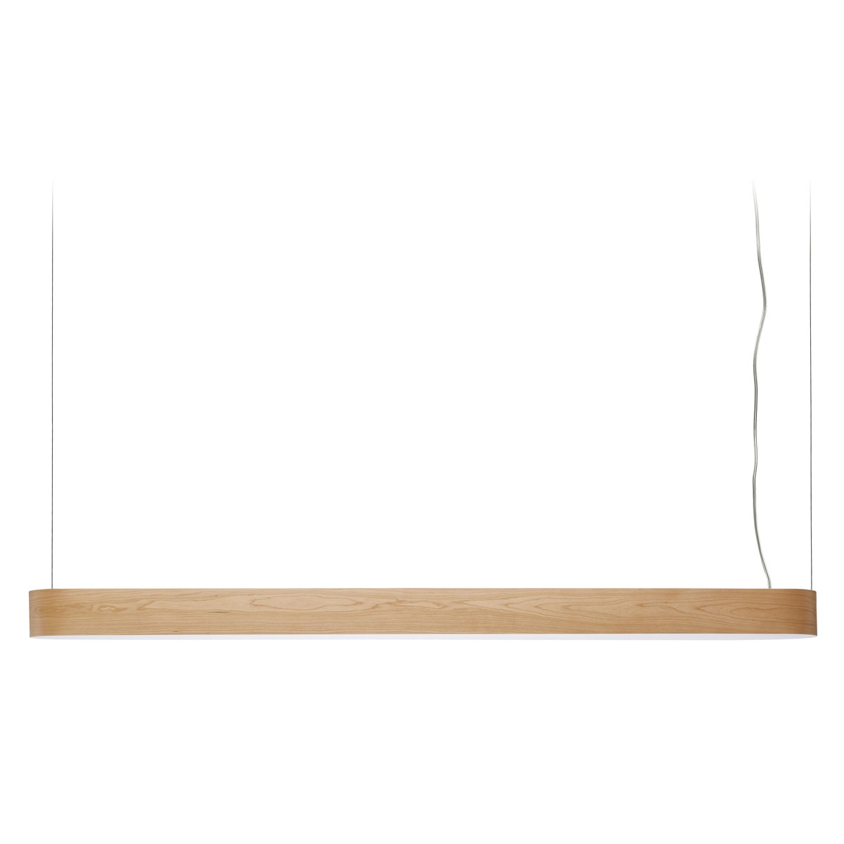 LZF Lamps I-Club Long Slim LED Pendelleuchte, Kirsche