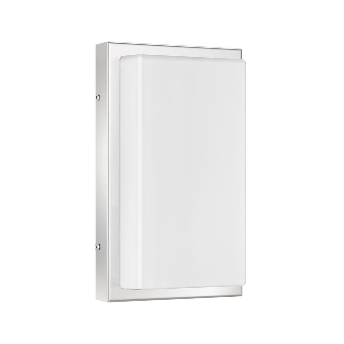 LCD Außenleuchten 048 Wandleuchte LED, Edelstahl, ohne Bewegungsmelder