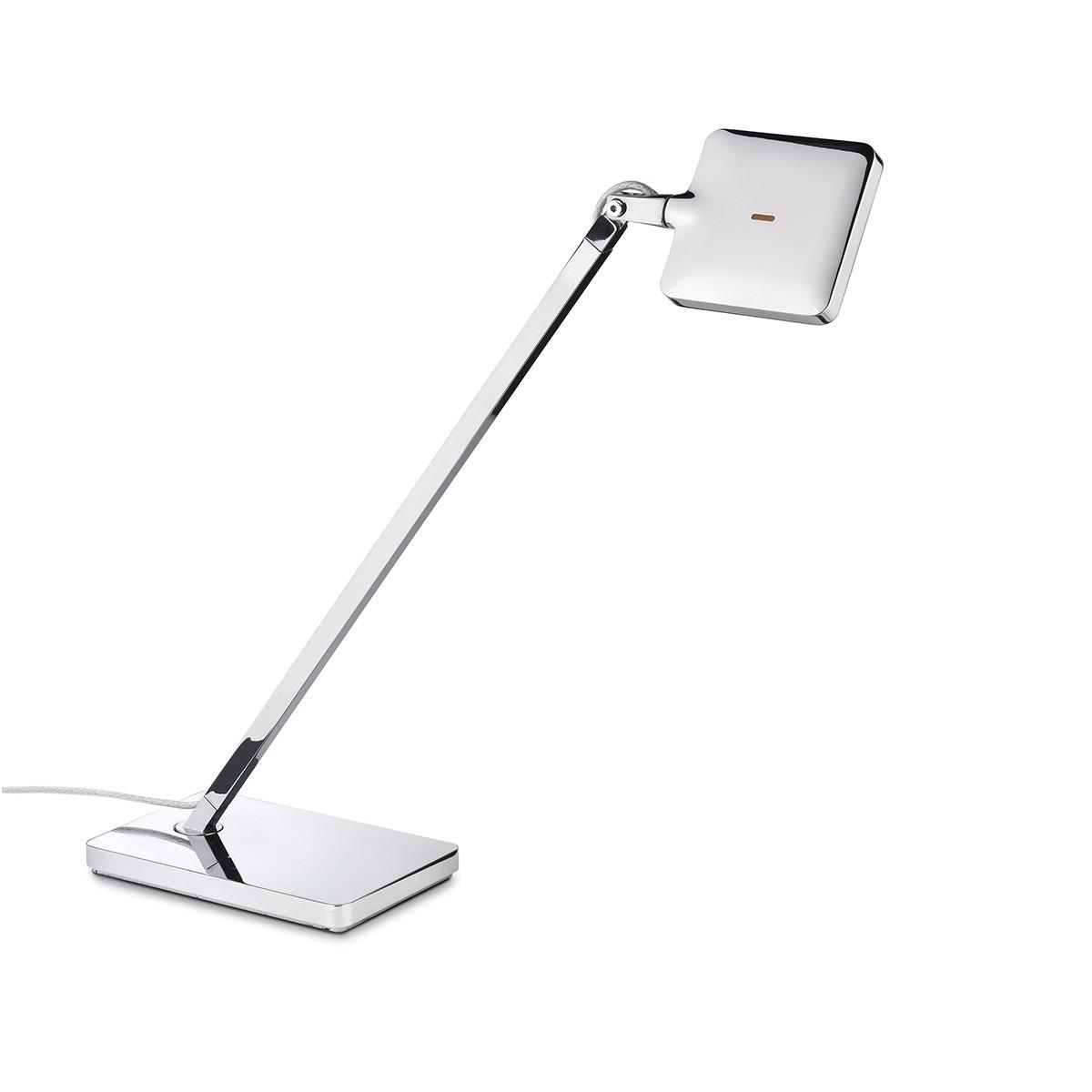 Flos Mini Kelvin LED Tischleuchte, Chrom