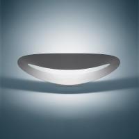 Mesmeri Parete LED, 3000° K, silbergrau