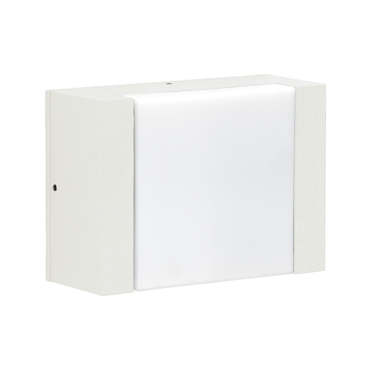 Albert 0331 LED Außenwandleuchte, weiß